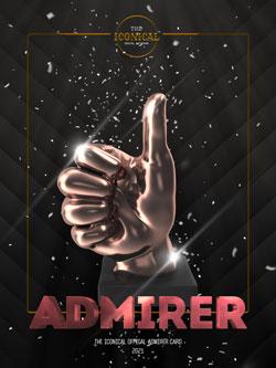 Admirer Rewards Cards